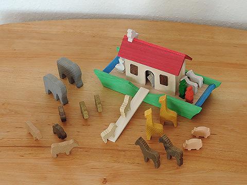 korio arche noah bio holzspielzeug f r kinder. Black Bedroom Furniture Sets. Home Design Ideas
