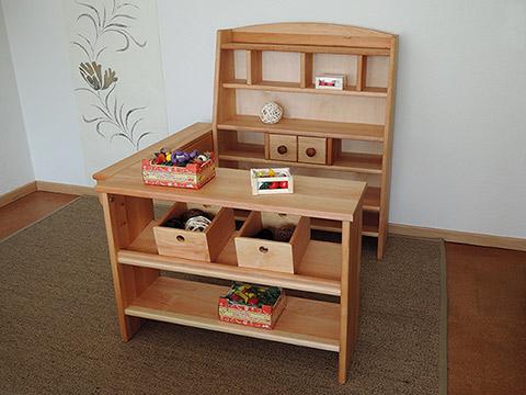 korio gro er kaufladen karina biom bel f r das kinderzimmer. Black Bedroom Furniture Sets. Home Design Ideas