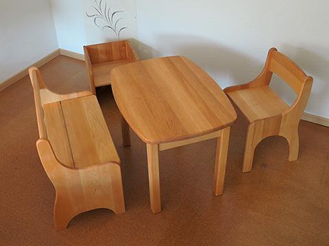 korio kindersitzm bel luca als set biom bel f r das kinderzimmer. Black Bedroom Furniture Sets. Home Design Ideas